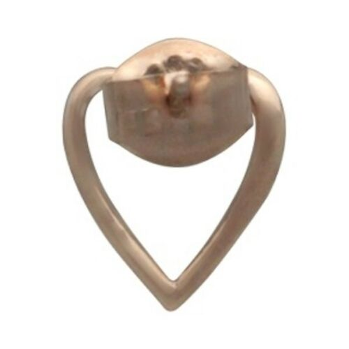Open Heart Stud Post Earrings - 18K Rose Gold Vermeil {More Options}