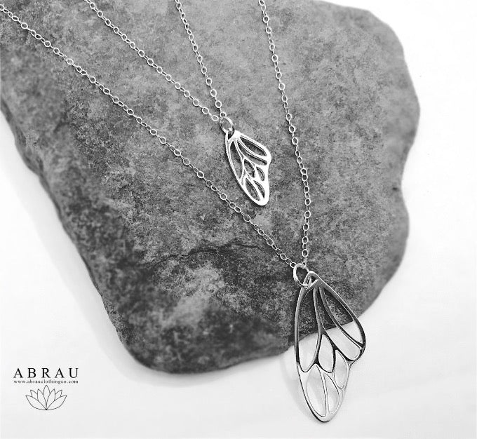Butterfly Wing Necklaces