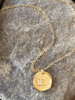 Horoscope Birth Sign Gold or Silver Coin Layering Necklace