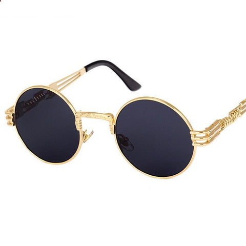 Retro Gothic Steampunk Mirror Sunglasses