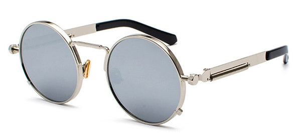 Vintage Metal Steampunk Sunglasses