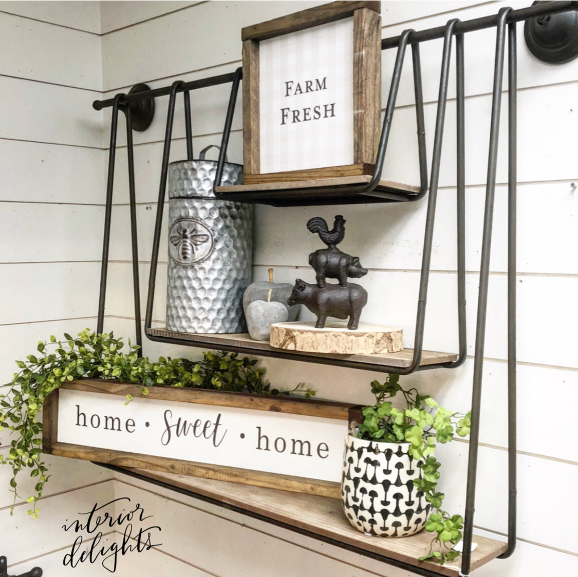 Temporarily Sold Out-Interior Delights Wall Shelf