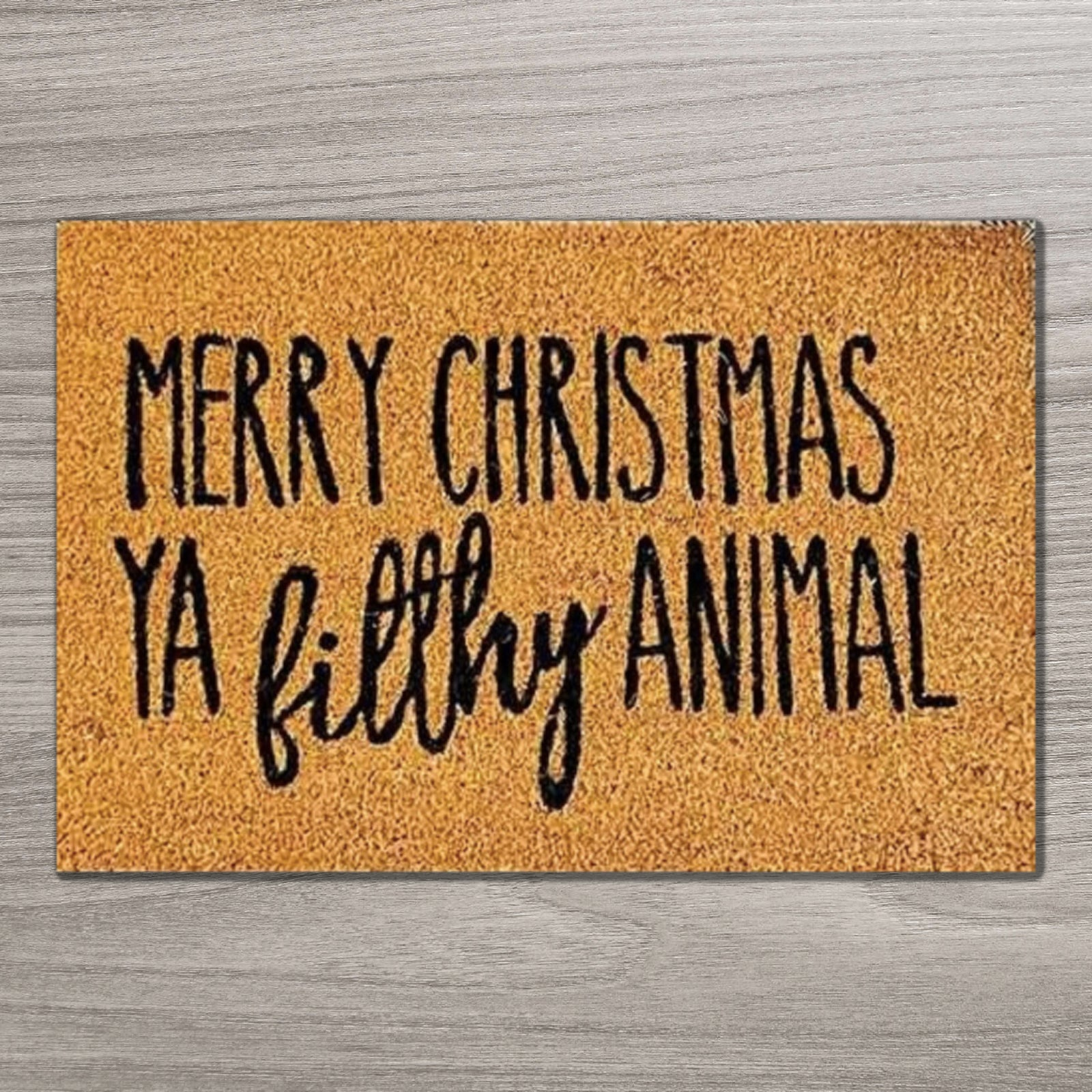 Filthy Animal Doormat