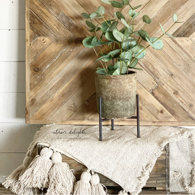"24"" RECLAIMED WOOD WALL DECOR - Interior Delights Parker"