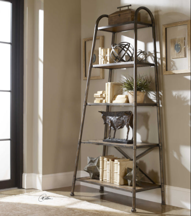 "83"" Tall Shelving Unit"
