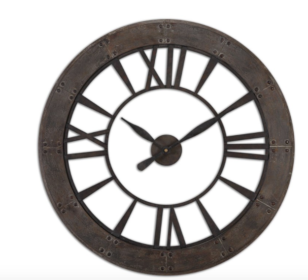 "40"" Industrial Clock"