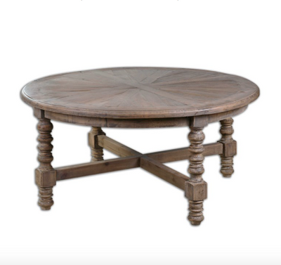 Spindle Leg Coffee Table