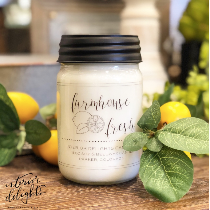 11 oz Farmhouse Fresh Candle - Interior Delights Parker