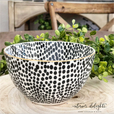 Set of 4 Glitzy Bowls - Interior Delights