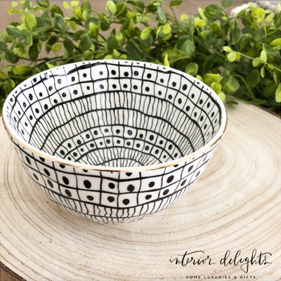 Set of 4 Glitzy Bowls - Interior Delights Parker