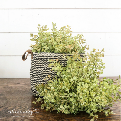 Baby Grass Pouf - Interior Delights
