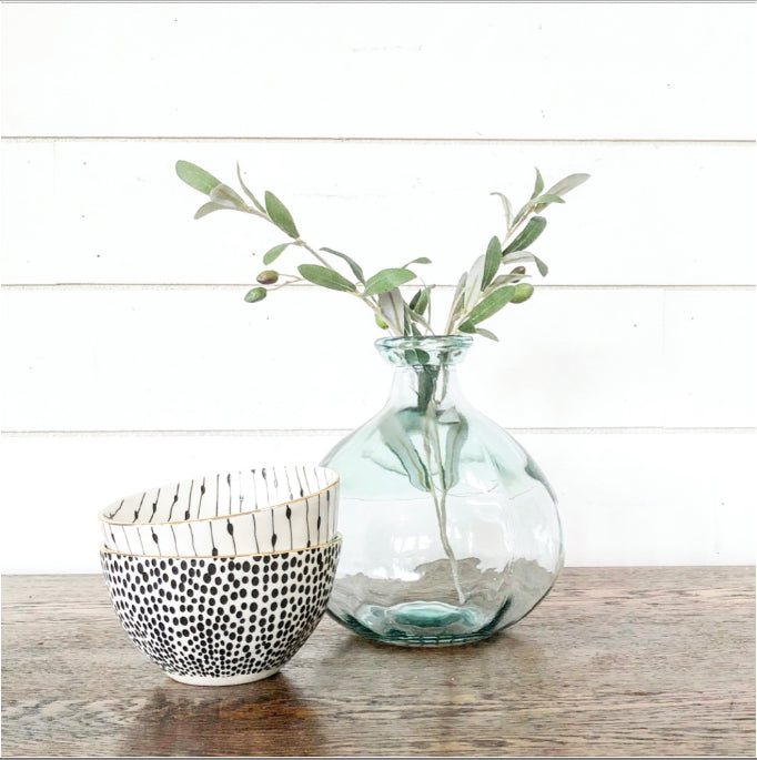 Small Sea Glass Vase - Interior Delights Parker