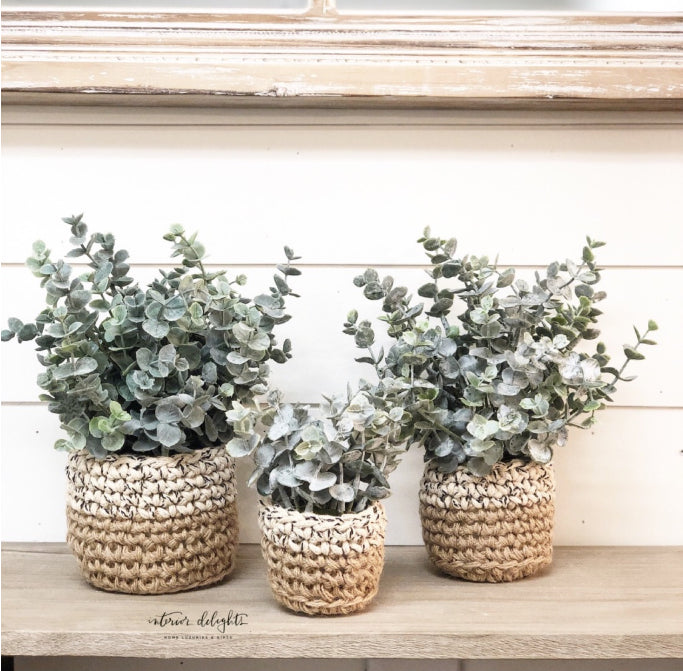 SMALL ONLY-Sweater Pot Eucalyptus - Interior Delights Parker