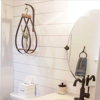 IN STOCK-Teardrop Hanging Bottle Holder - Interior Delights Parker