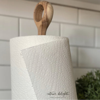 Round Top Paper Towel Holder - Interior Delights Parker