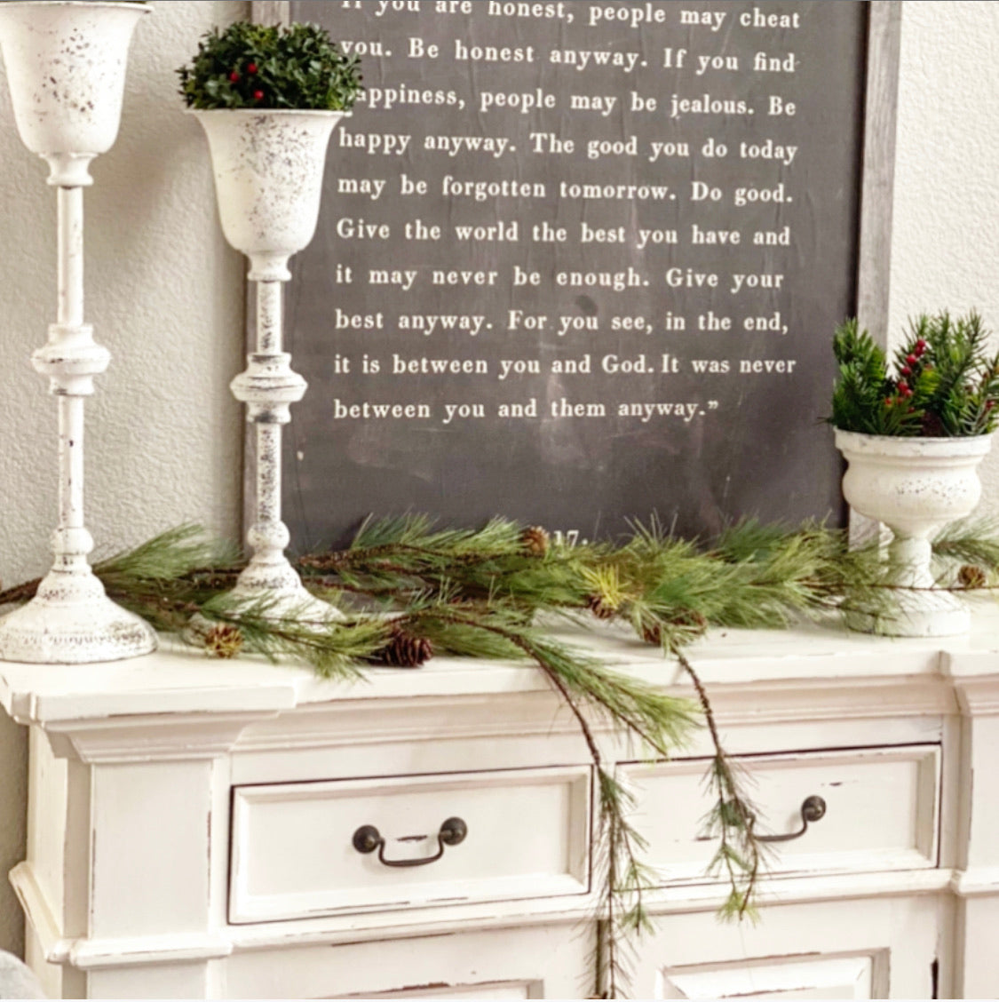 4ft Wispy Pine Garland