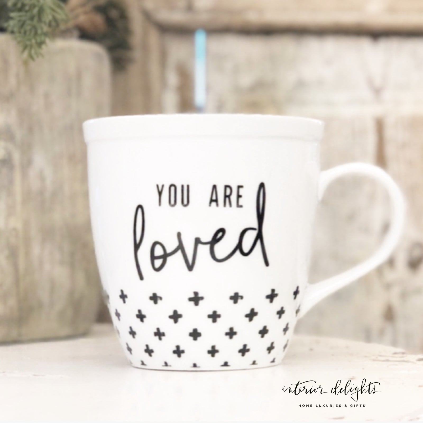 You are Loved Mug - Interior Delights Parker