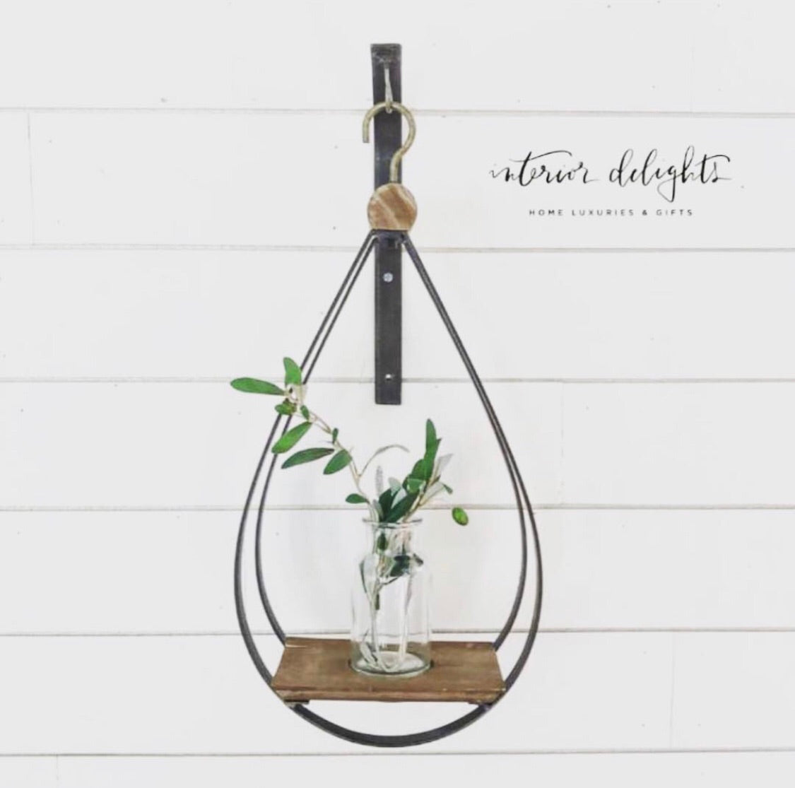 Teardrop Hanging Bottle Holder - Interior Delights