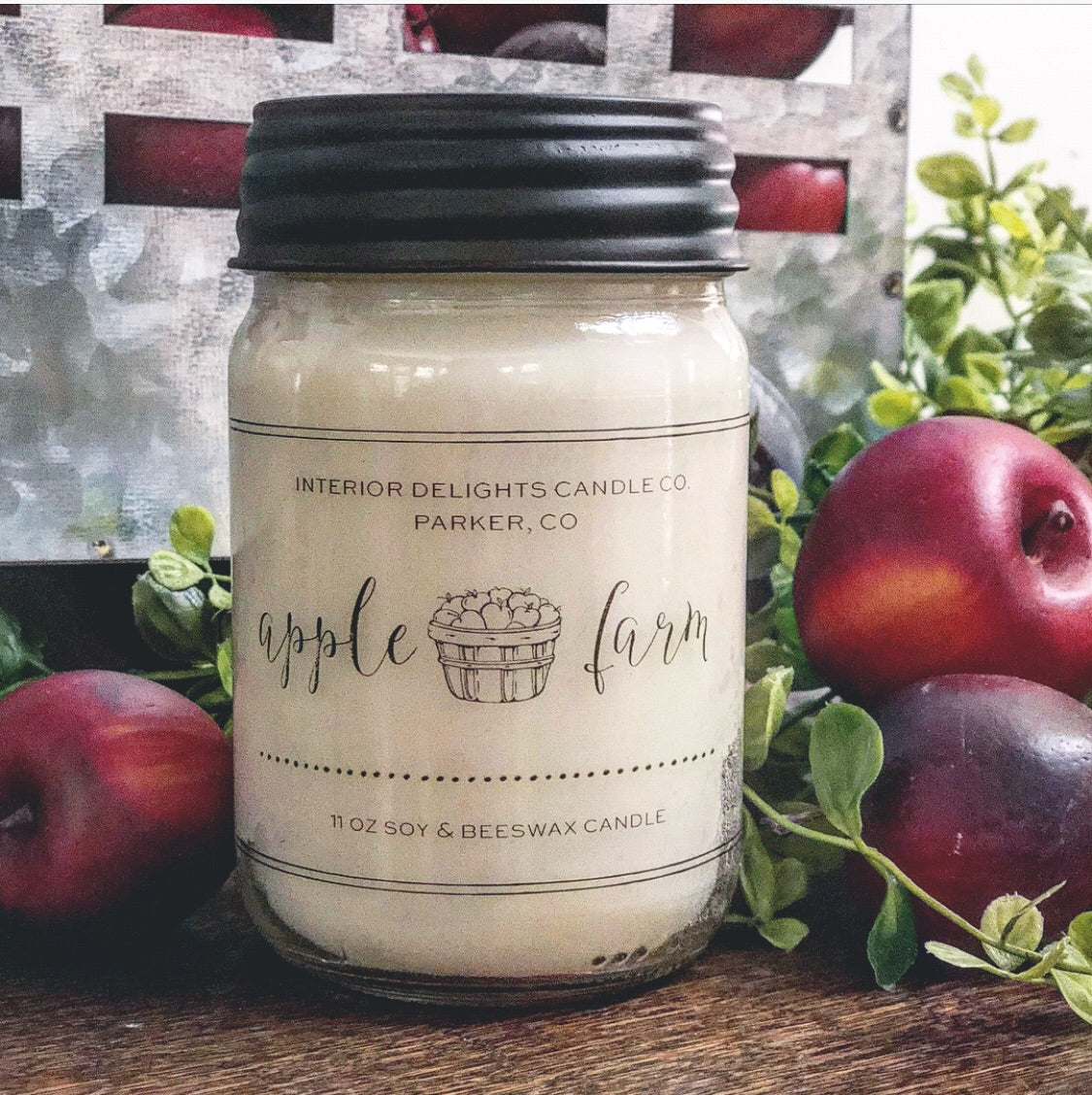 Apple 🍎 Farm Candle