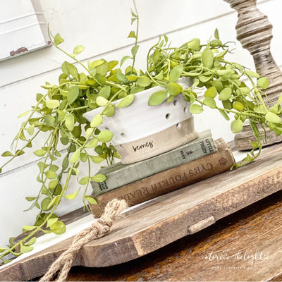 "22"" hanging greenery - Interior Delights Parker"