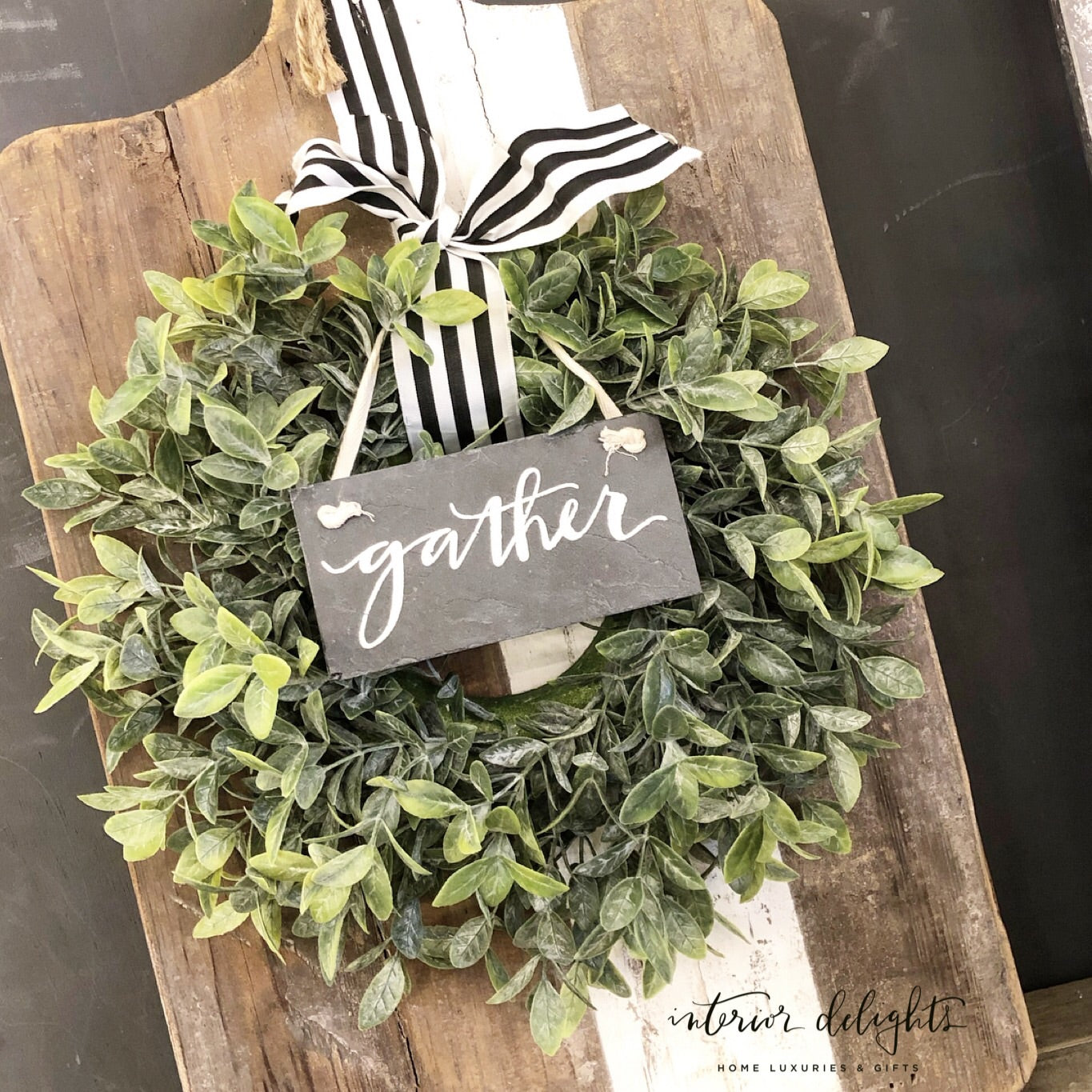 Sage Wreath - Interior Delights Parker