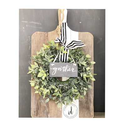 Rustic Wooden Cutting Board - Interior Delights Parker
