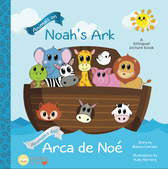 Animals on Noah's Ark/ Animales del Arca De Noe