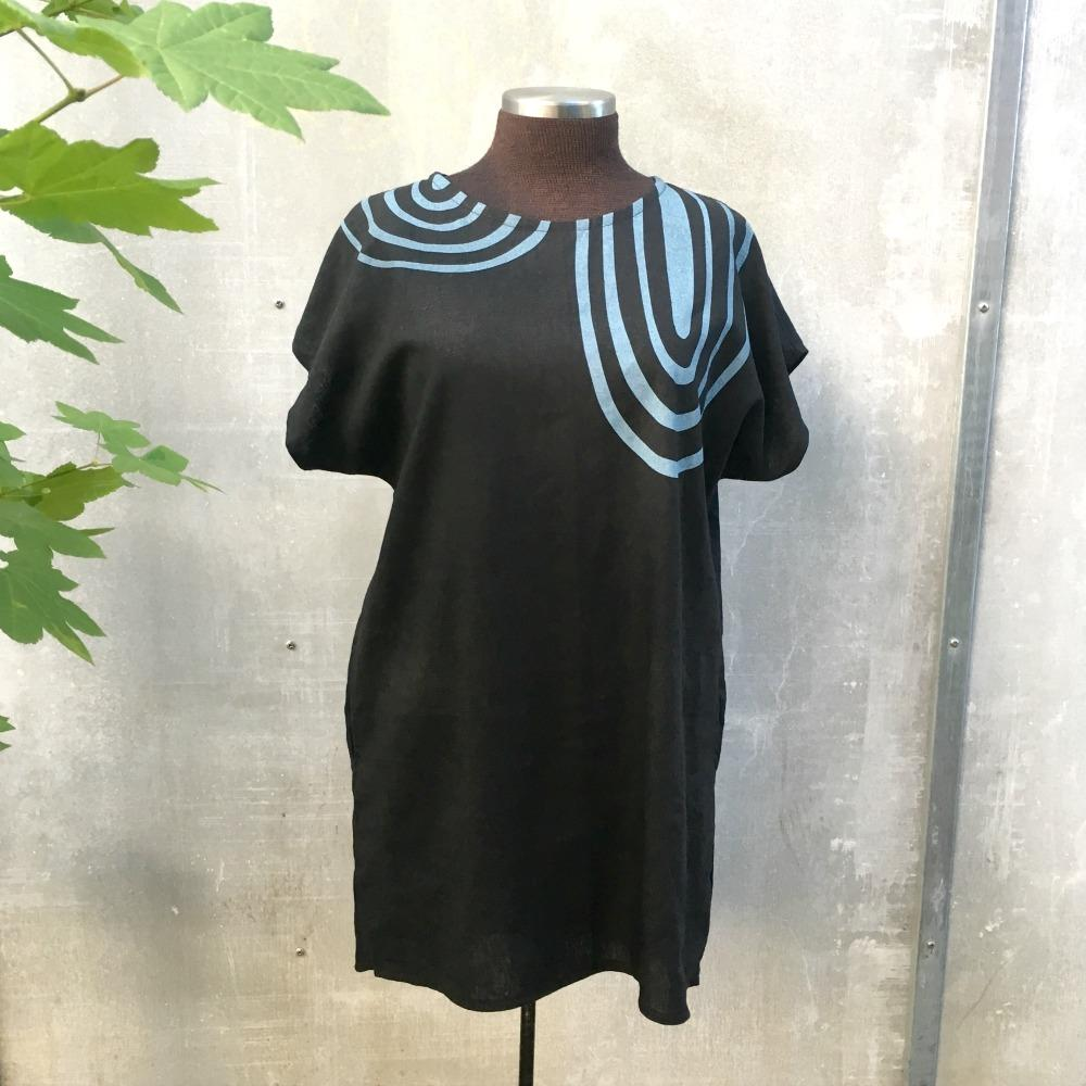 Ida Tunic - Give & Take on Black