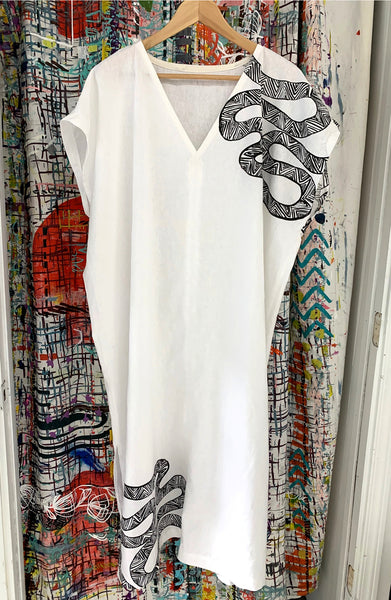 Long Caftan -  Serpent