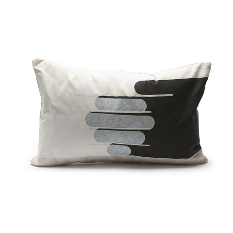 Throw Pillow - Hands in White / Black