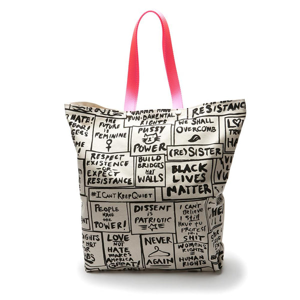 Pocket Tote Bag - Women's March