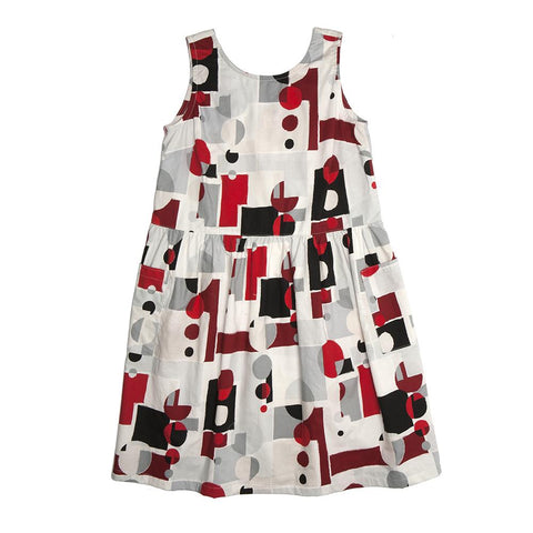 Ursa Sundress - Abstract Graphic print