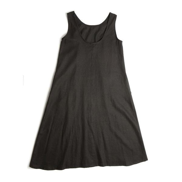 Tessa Tank Dress - Black