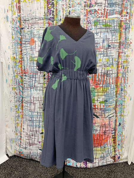 Lucia Dress SAMPLE - 'Ginkgo'