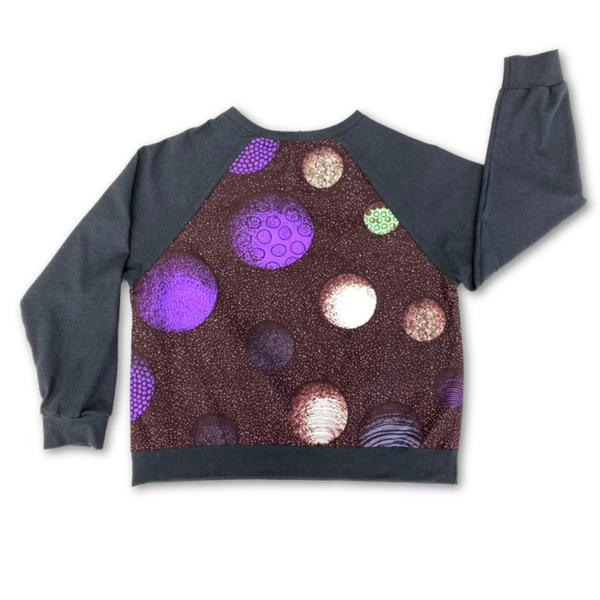 Van Raglan Top - Cosmic