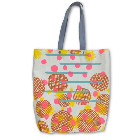 Pocket Tote Bag - Everything Print