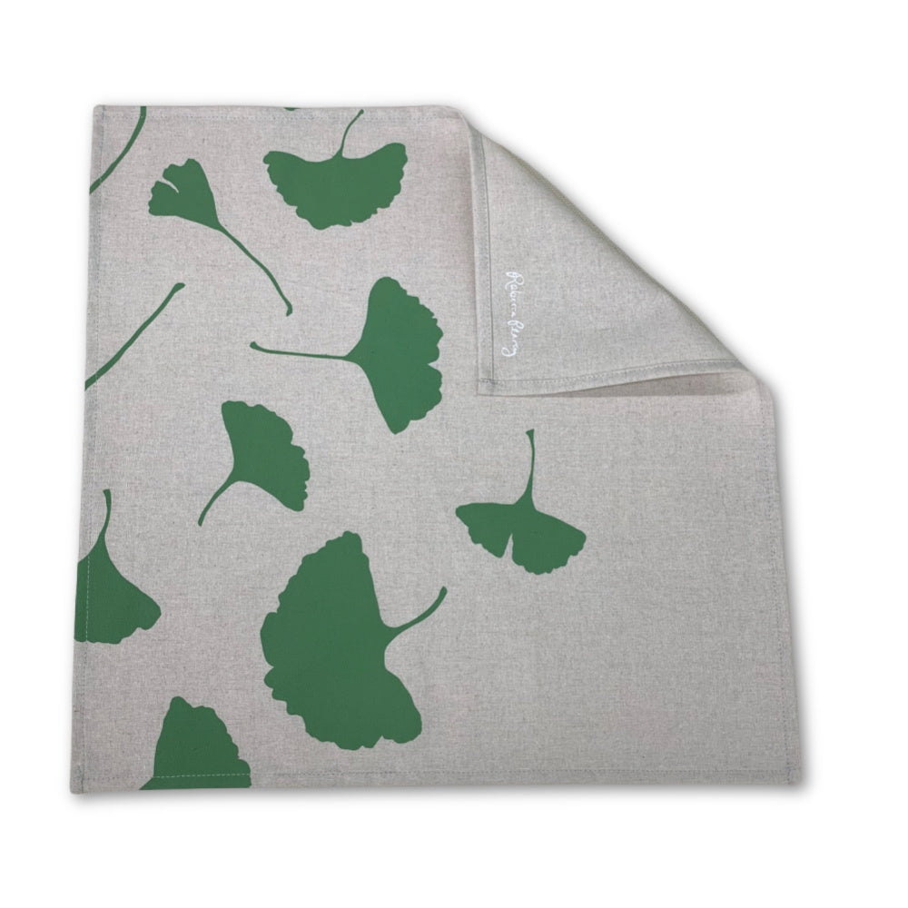 Cloth Napkin -  'Ginkgo'