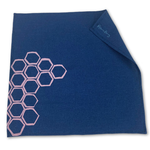 Cloth Napkin -  'Honeycomb'