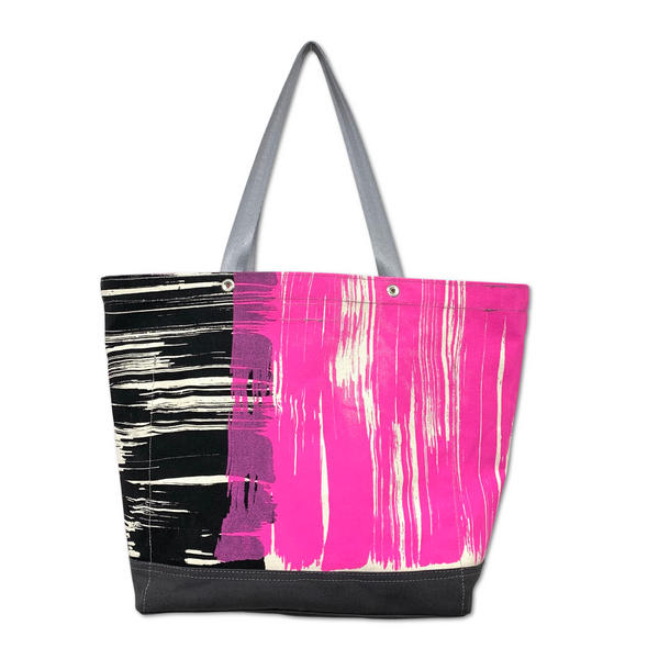 OOAK Vessel Tote Bag - 'Brushstroke Party 1'