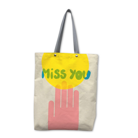 Tote Bag - 'Miss You'