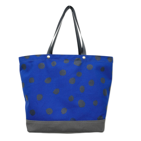 OOAK Vessel Tote Bag - 'Polka Dot'