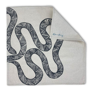 Cloth Napkin -  'Serpent'