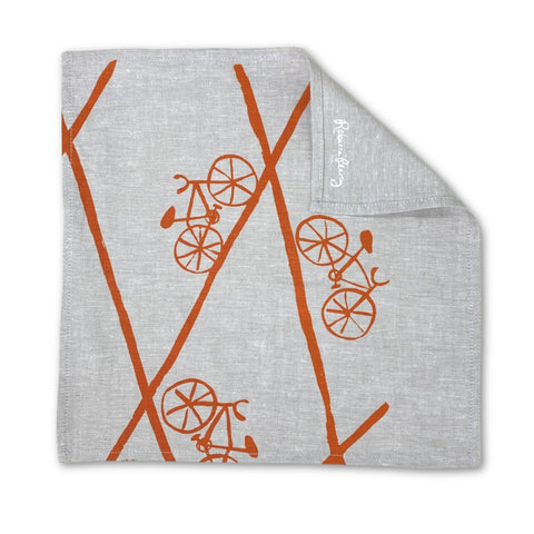 Cloth Napkin -  'Bikes'