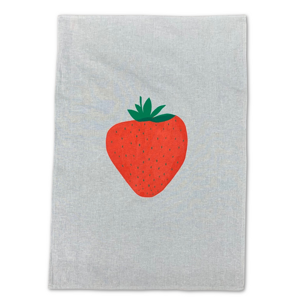 Tea Towel -  'Strawberry'