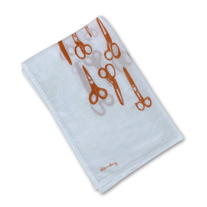 Tea Towel -  Scissors