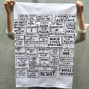 Tea Towel -  Women's March