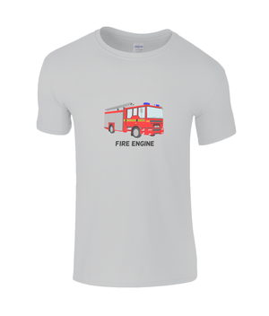 Fire Engine - kid's t-shirt