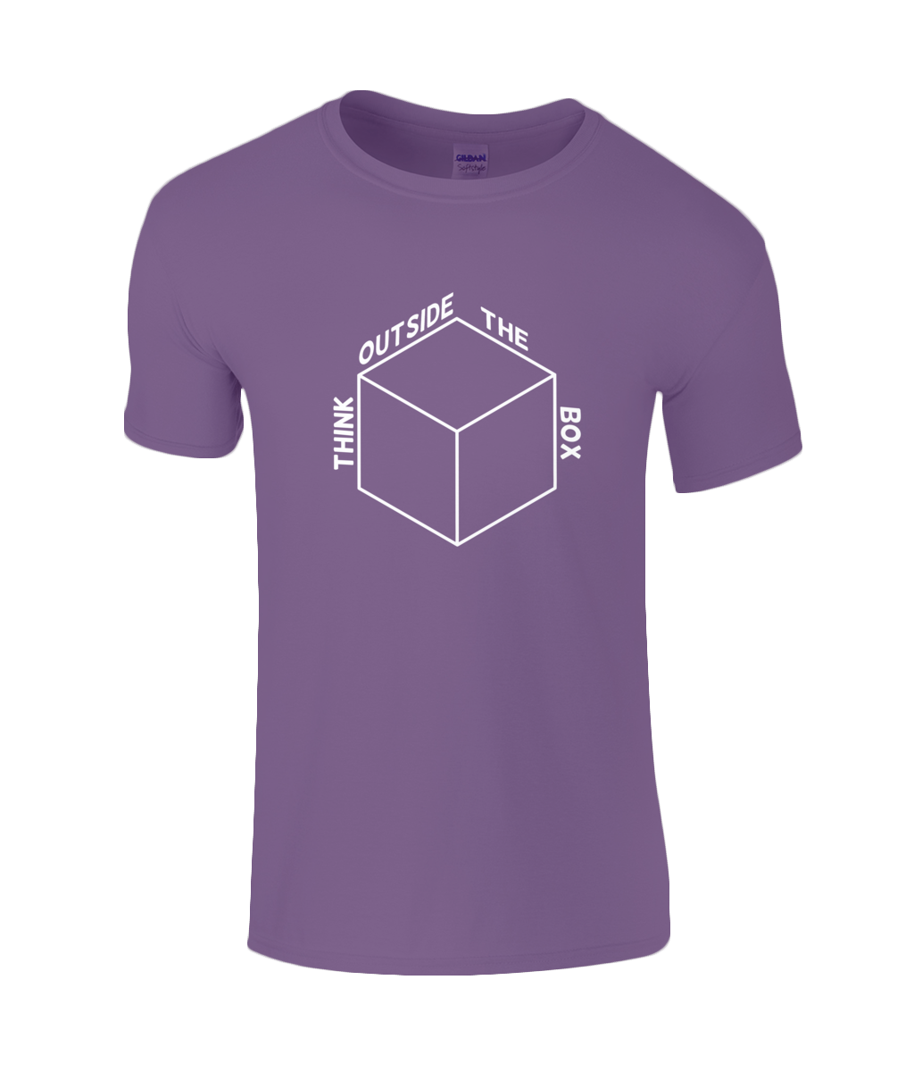 Think Outside The Box - men's t-shirt