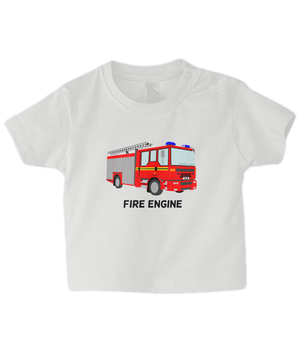 Fire Engine - infant's t-shirt