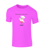 When I Grow Up I Want To Be A Chef - kid's t-shirt